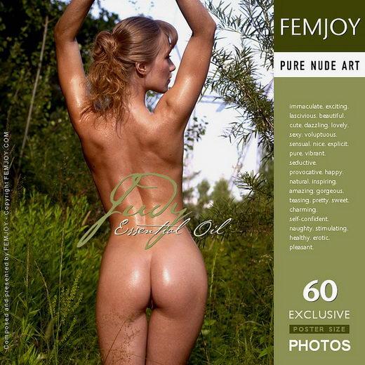 Judy - `Essential Oil` - by Alexander Lobanov for FEMJOY