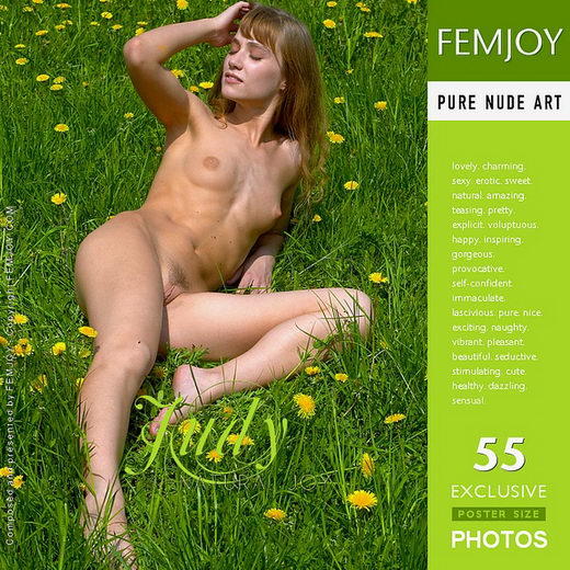 Judy - `Natural Joy` - by Alexander Lobanov for FEMJOY
