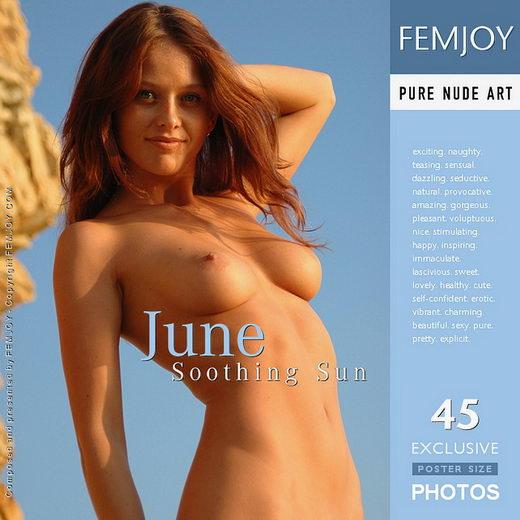 June - `Soothing Sun` - by Rustam Koblev for FEMJOY