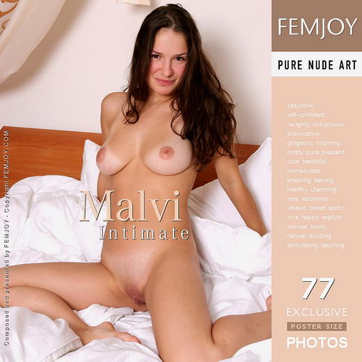 Malvi - `Intimate` - by Vic Truman for FEMJOY