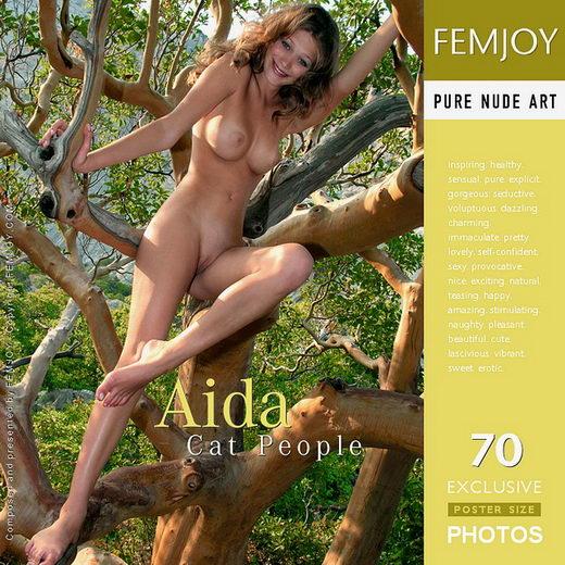 Aida - `Cat People` - by Valery Anzilov for FEMJOY