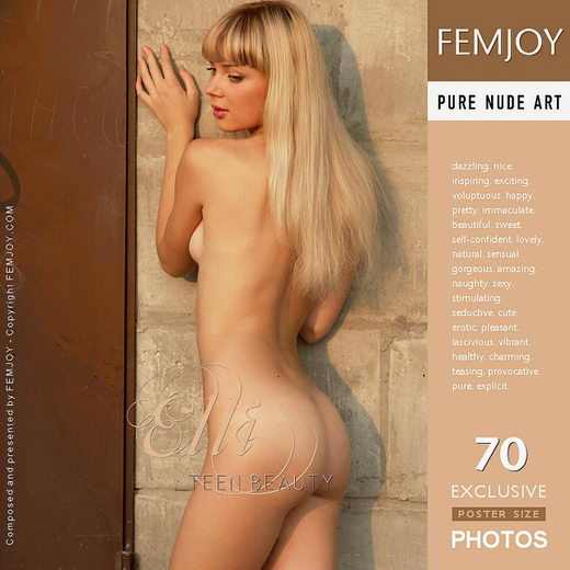 Elli - `Teen Beauty` - by Arev for FEMJOY