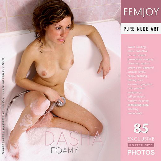 Dasha - `Foamy` - by Vic Truman for FEMJOY
