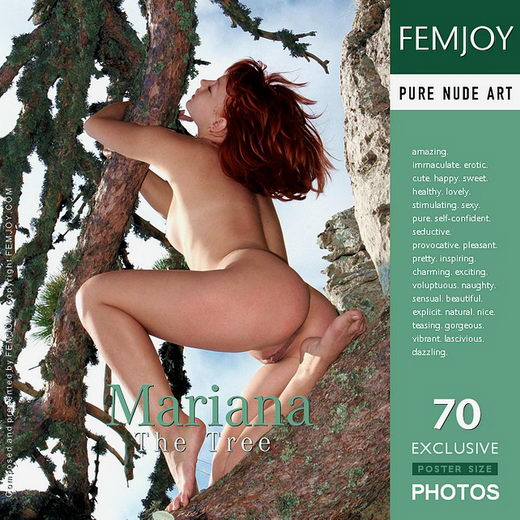 Mariana - `The Tree` - by Valery Anzilov for FEMJOY
