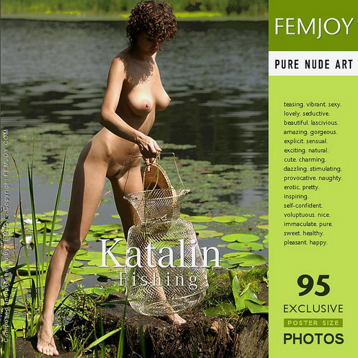 Katalin - `Fishing` - by Stripy Elephant for FEMJOY