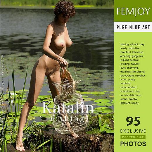 Katalin - `Fishing` - by Stripy Elephant for FEMJOY