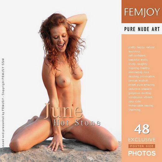 June - `Hot Stone` - by Rustam Koblev for FEMJOY