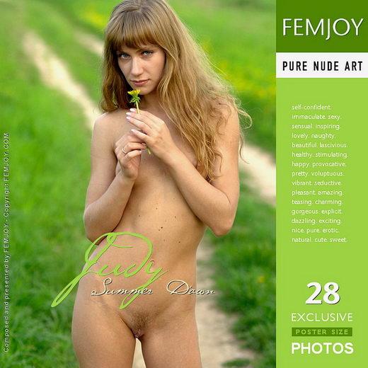 Judy - `Summer Dawn` - by Alexander Lobanov for FEMJOY