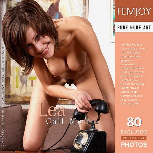 Lea - `Call Me` - for FEMJOY