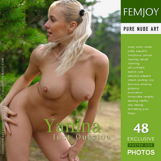 Yanina - `Just Outside` - by Alexander Gribanov for FEMJOY