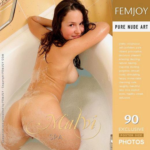 Malvi - `Spa` - by Vic Truman for FEMJOY