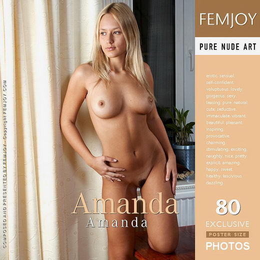 Amanda - `Amanda (issue cover showing model rename)` - by Peter Porai-Koshits for FEMJOY