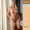 Amanda (issue cover showing model rename)