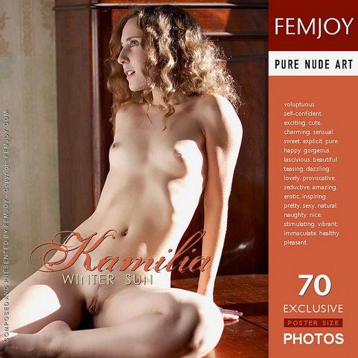 Kamilia - `Winter Sun` - for FEMJOY