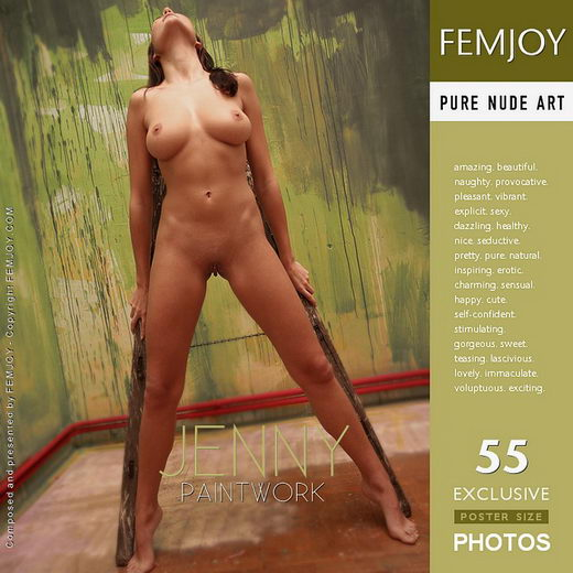 Jenny - `Paintwork` - by Peter Vlcek for FEMJOY