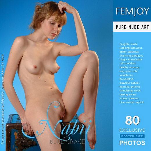 Nabii - `Blue Grace` - by Erofey Tuk for FEMJOY