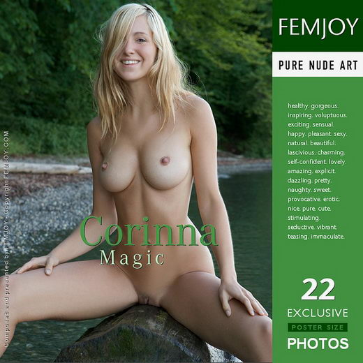 Corinna - `Magic` - by Stefan Soell for FEMJOY