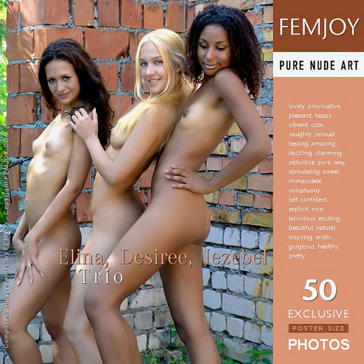 Elina & Desiree & Jezebel - `Trio` - by Arev for FEMJOY