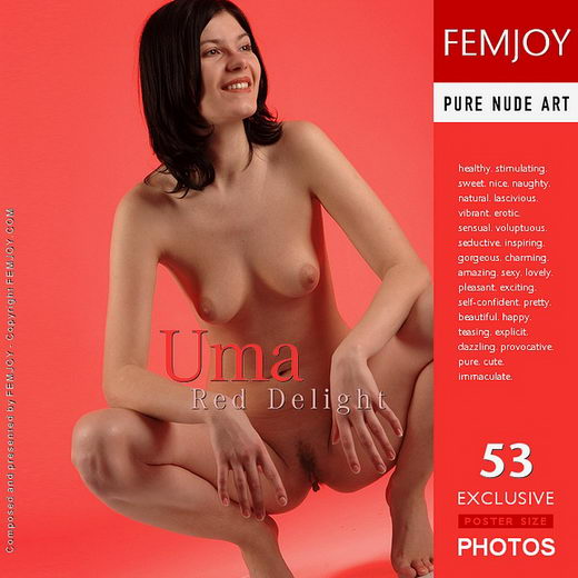 Uma - `Red Delight` - by Rustam Koblev for FEMJOY
