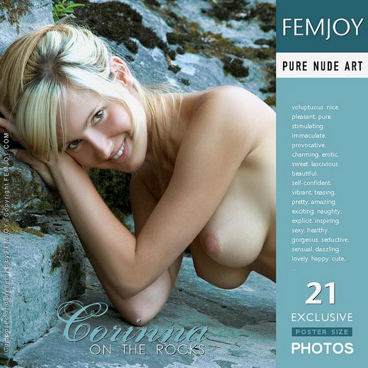 Corinna - `On the Rocks` - by Stefan Soell for FEMJOY