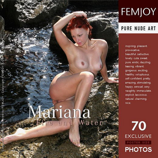 Mariana - `Fire and Water` - by Valery Anzilov for FEMJOY