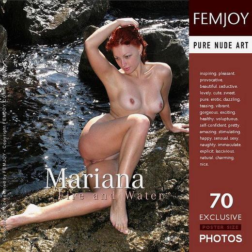 Mariana - `Fire and Water` - by Valery Anzilov for FEMJOY