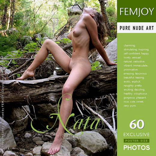 Nata - `Green` - by Valery Anzilov for FEMJOY