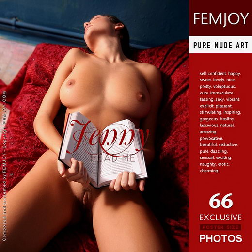 Jenny - `Read Me` - by Peter Vlcek for FEMJOY