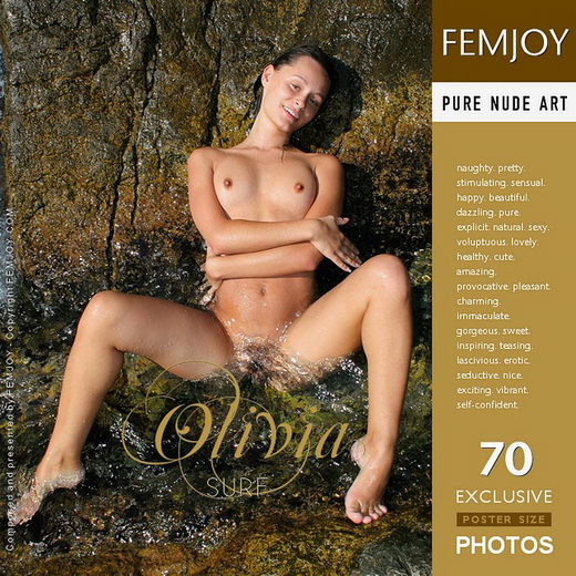 Olivia - `Surf` - by Valery Anzilov for FEMJOY