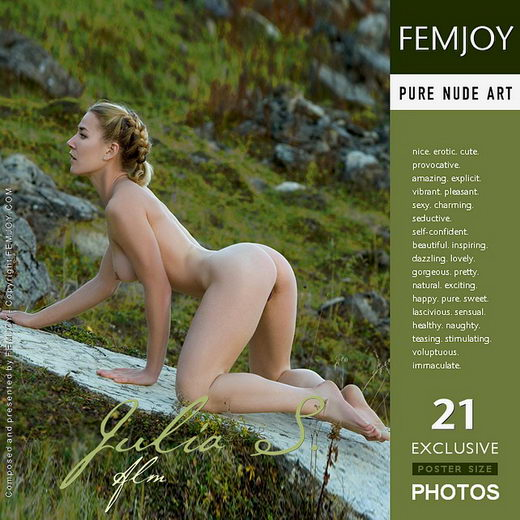 Julia S - `Alm` - by Stefan Soell for FEMJOY