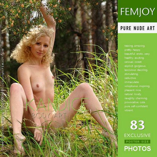 Kandice - `Body Art` - for FEMJOY