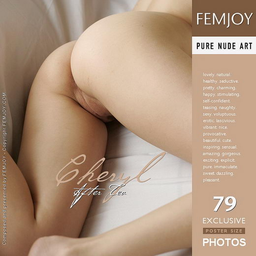 Cheryl - `After Tea` - by Leon for FEMJOY