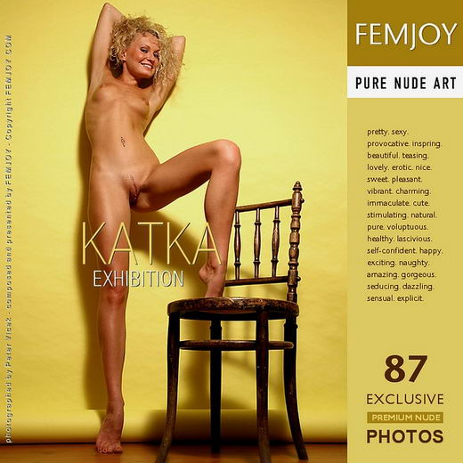 Katka - `Exhibition` - by Peter Vlcek for FEMJOY