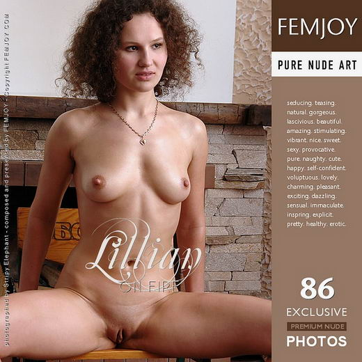Lillian - `On Fire` - by Stripy Elephant for FEMJOY