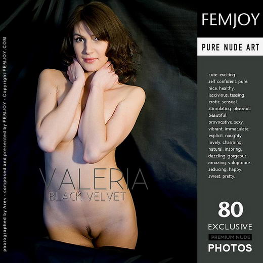 Valeria - `Black Velvet` - by Arev for FEMJOY