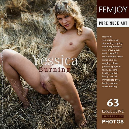 Yessica - `Burning` - by Arev for FEMJOY