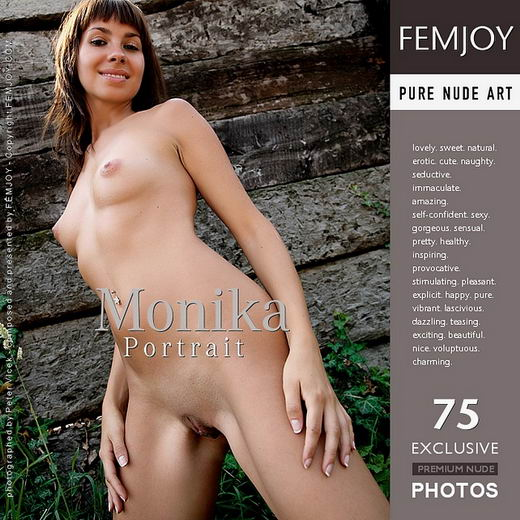 Monika - `Portrait` - by Peter Vlcek for FEMJOY