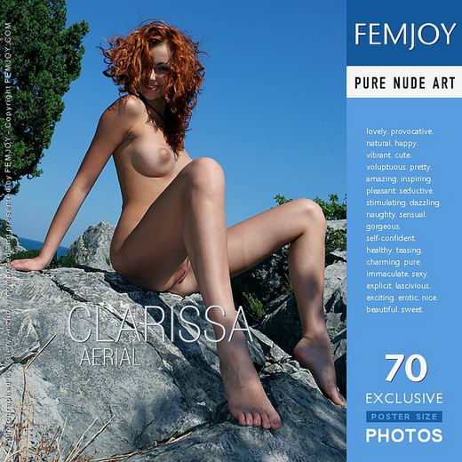 Clarissa - `Aerial` - by Valery Anzilov for FEMJOY