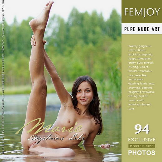 Marie - `Mysterious Lake` - by Peter Porai-Koshits for FEMJOY