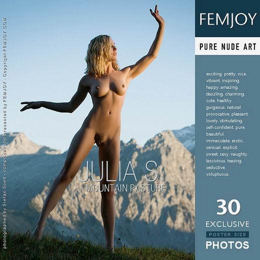Julia S - `Mountain Pasture` - by Stefan Soell for FEMJOY