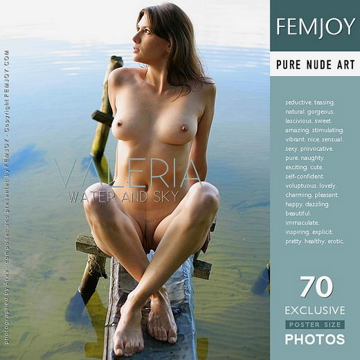 Valeria - `Water and Sky` - by Arev for FEMJOY