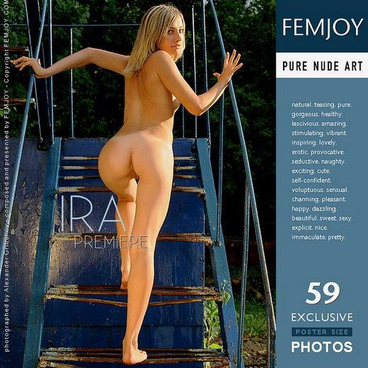 Ira - `Premiere` - by Alexander Gribanov for FEMJOY