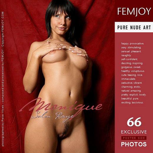 Monique - `Salon Rouge` - by Peter Vlcek for FEMJOY