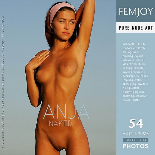Anja - `Naked` - by Alexander Fedorov for FEMJOY