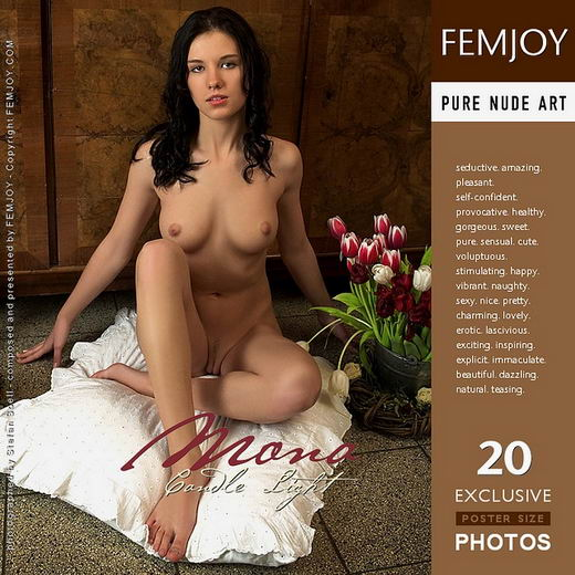 Mona - `Candle Light` - by Stefan Soell for FEMJOY