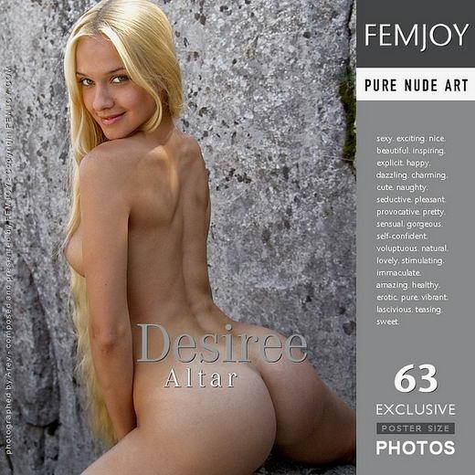 Desiree - `Altar` - by Arev for FEMJOY