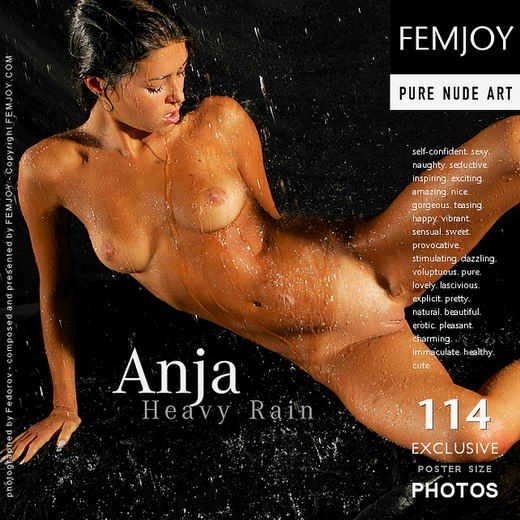 Anja - `Heavy Rain` - by Alexander Fedorov for FEMJOY