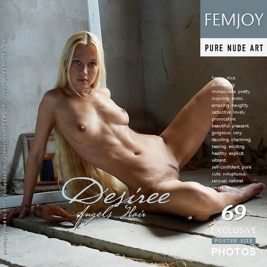 Desiree - `Angels Hair` - by Arev for FEMJOY