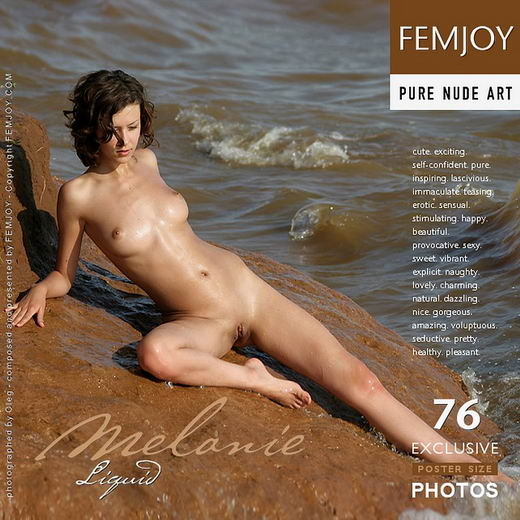 Melanie - `Liquid` - by Oleg for FEMJOY