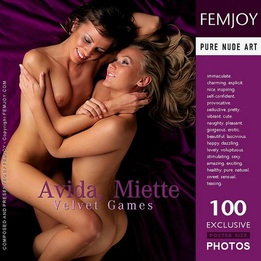 Avida & Miette - `Velvet Games` - for FEMJOY